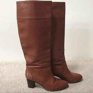 J.Crew Booker Midheel Boots with Extended Calf